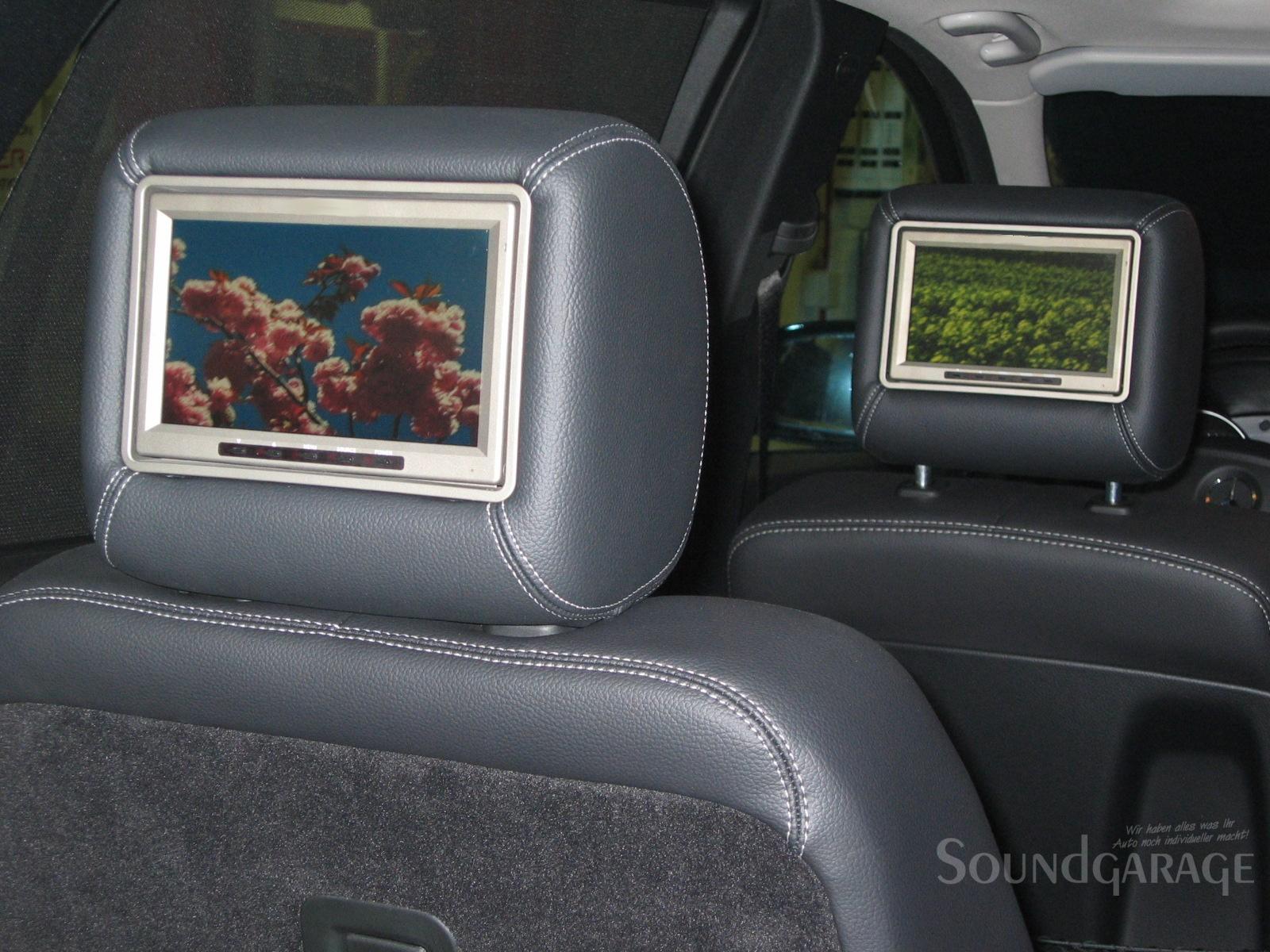 Mercedes benz r klasse dual rear seat entertainment system for Mercedes benz rear seat entertainment system
